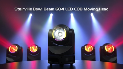 Stairville Bowl Beam 604 LED COB Moving Head