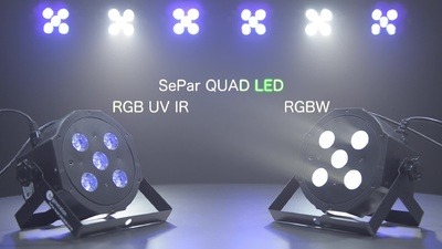 Fun Generation SePar Quad RGB UV IR