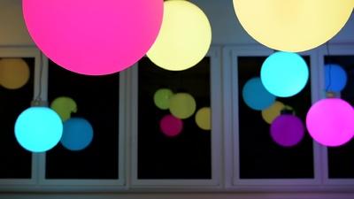 Varytec LED Ball RGB 50cm 3x3W