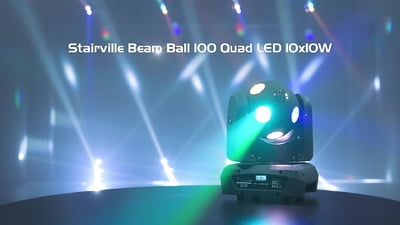 Stairville Beam Ball 100 Quad LED