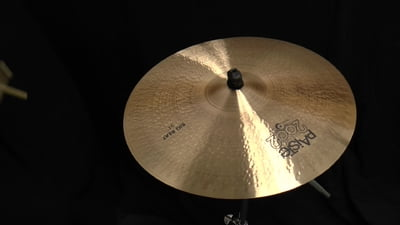 Paiste 21 2002 Black Big Beat Cymbal