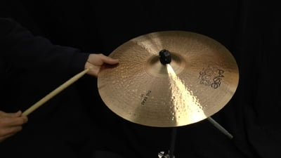 Paiste 18 2002 Black Big Beat Cymbal