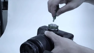 9.solutions 9.XA1015 Quick mount for large camera