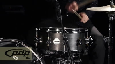 DW PDP Black Wax Snare Drum
