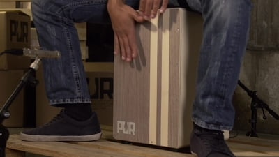 PUR Cajon Stained Model PC4299
