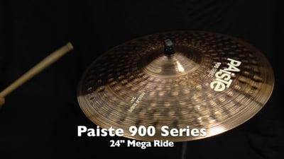 Paiste 24 900 Serie Mega Ride