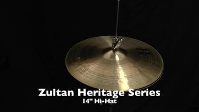 Zultan 14 Heritage Hi-Hat