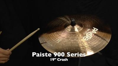 Paiste 19 900 Serie Crash