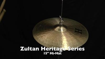 Zultan 15 Heritage Hi-Hat