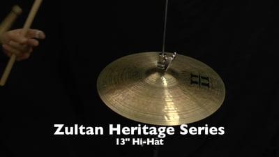Zultan 13 Heritage Hi-Hat