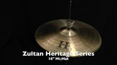Zultan 16 Heritage Hi-Hat