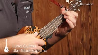 Luna Guitars Uke Soprano