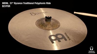 Meinl Byzance Serie 21 Polyphonic Ride
