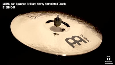 Meinl Byzance Serie 18 Heavy Hammered Crash