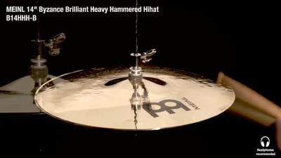 Meinl Byzance Serie 14 Heavy Hammered Hi-Hat
