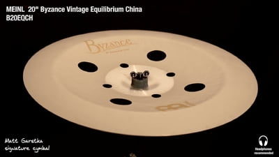 Meinl 20 Byzance Vintage Equilibrium China