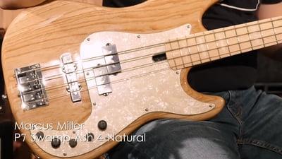 Marcus Miller P7 Swamp Ash 4 Natural