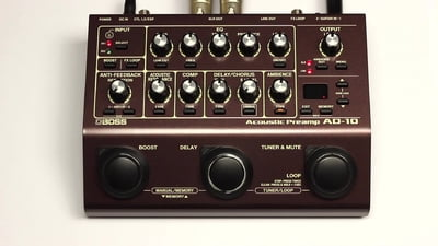 Boss AD-10 Acoustic Preamp & FX