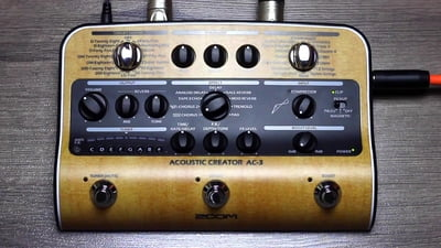 Zoom AC3 Acoustic Guitar FX