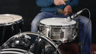 Ludwig 14x5,5 Heirloom Stainless Steel Snare