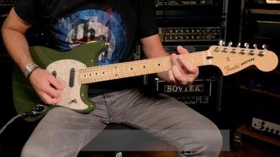 Fender Mustang MN Offset