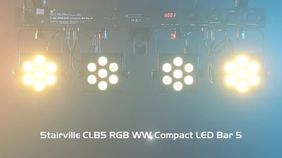 Stairville CLB5 RGBW Compact LED Bar 4 QuadPAR