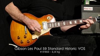 Gibson Les Paul Standard 1959 Iced Tea VOS