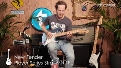 Fender Player Serie Stratocaster
