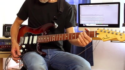 Fender Player Serie Stratocaster HSH PF