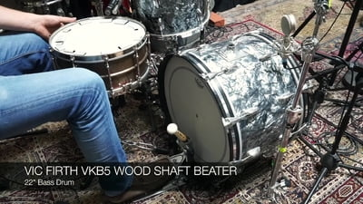 Vic Firth VFVKB5 Wood Shaft Beater