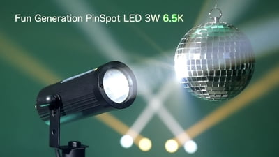 Fun Generation PinSpot LED 3W