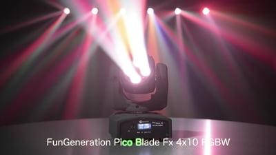 Fun Generation PicoBlade FX 4x10W RGBW