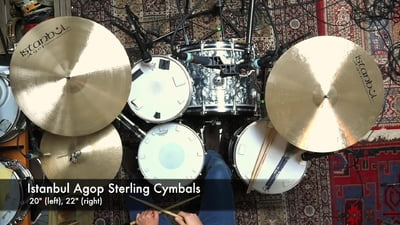 Istanbul Agop Sterling Crash-Ride