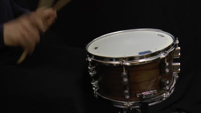 DW PDP 13x07 Walnut Snare Drum
