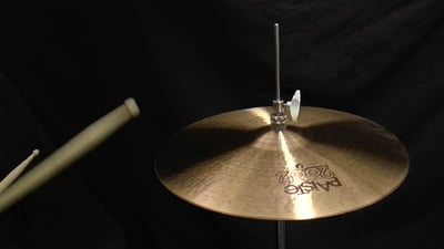 Paiste 15 2002 Black Big Beat Hi-Hat
