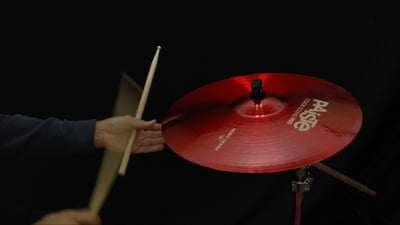 Paiste 18 900 Color Sound Serie Heavy Crash RED