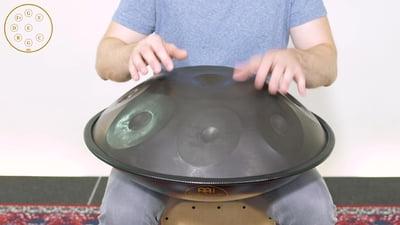 Meinl Sonic Energy Harmonic Art Handpan HD2