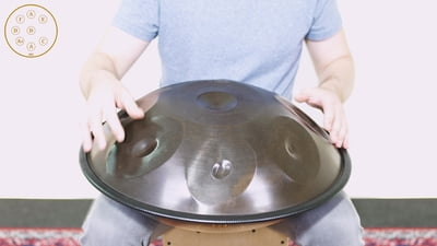 Meinl Sonic Energy Harmonic Art Handpan HD5