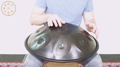 Meinl Sonic Energy Harmonic Art Handpan HD4