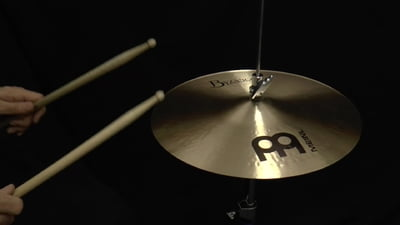 Meinl Byzance Serie 14 Traditional Thin Hi-Hat