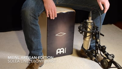 Meinl Artisan Edition Soleá Line Cajon Ebony