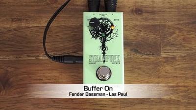 J. Rockett Audio Designs Steampunk Boost/Buffer