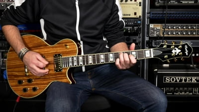 Prestige Guitars Heritage Premier Zebrawood