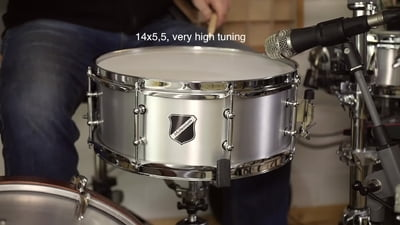 Millenium Aluminator Snare Drum