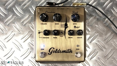 Egnater Goldsmith Overdrive + Boost Pedal
