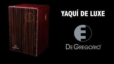 De Gregorio Yaqui De Luxe Cajon