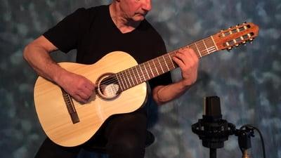 Thomann Classica Fusion 8 String Konzertgitarre