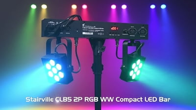 Stairville CLB5 2P RGB WW