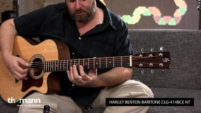 Harley Benton Custom Line Baritone CLG-414BCE NT