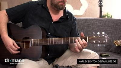 Harley Benton Delta Blues OE